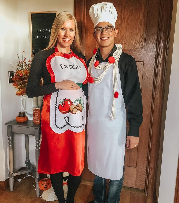 Prego Pasta Sauce Halloween costume
