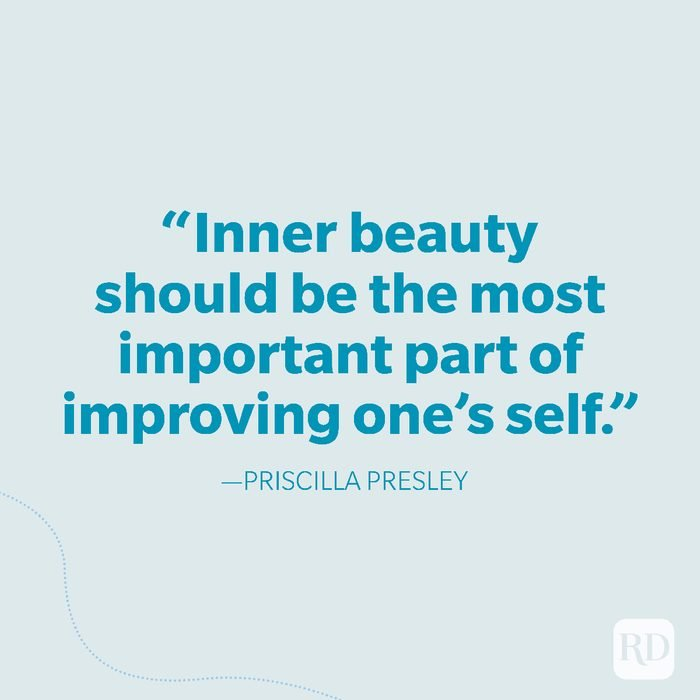 34-Inner beauty should be the most important part of improving one's self