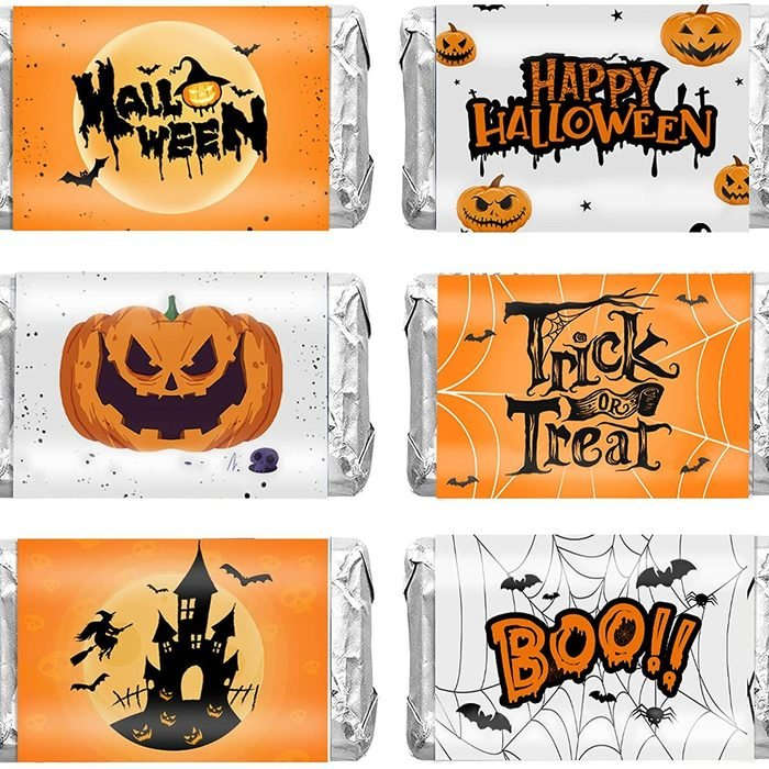 halloween chocolate party favors