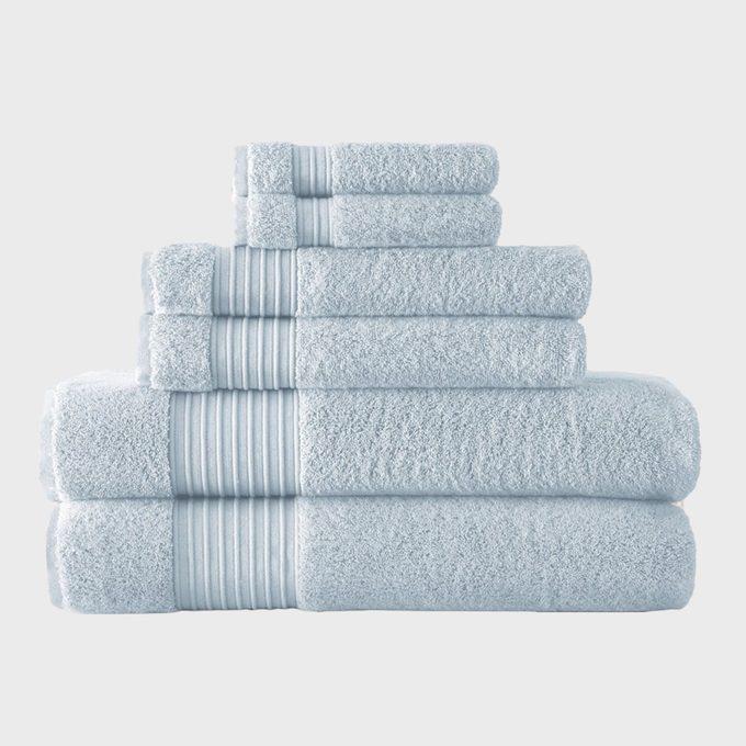 Amraupur Overseas 6 Piece 700gsm 100 Turkish Cotton Towel Set