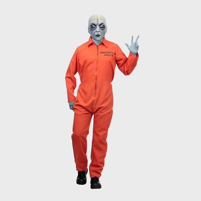 Area 51 Escapee Halloween Costume