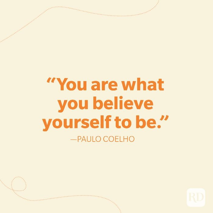 25-You are what you believe yourself to be