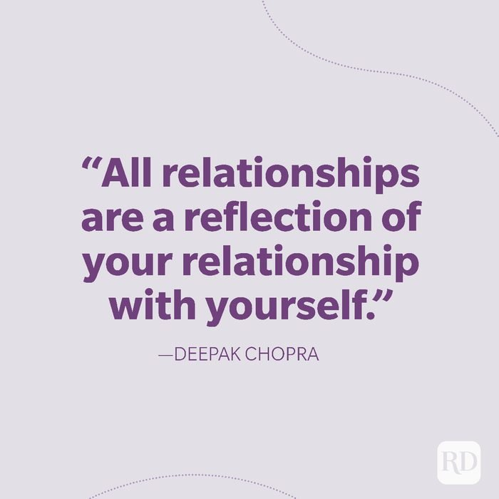 28-All relationships are a reflection of your relationship with yourself