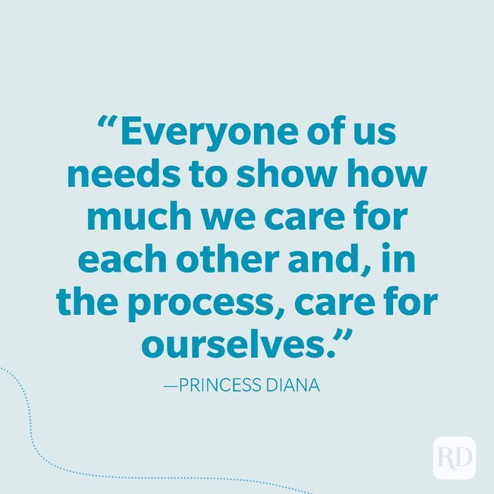 38-Everyone of us needs to show how much we care for each other and, in the process, care for ourselves