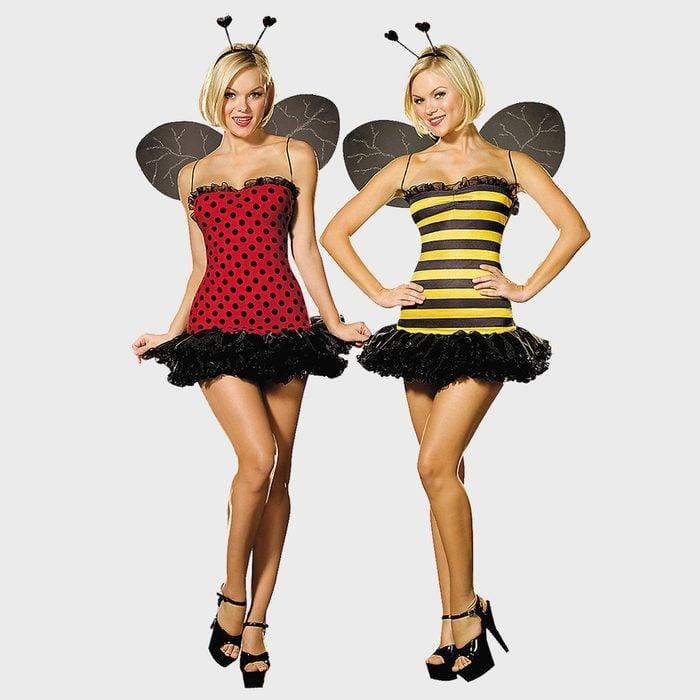 Bumble Bee And Lady Bug Halloween Costume Via Orientaltrading