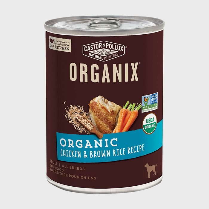 Castor And Pollux Organix Chicken And Brown Rice