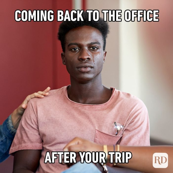 Coming Back To The Office After Your Trip