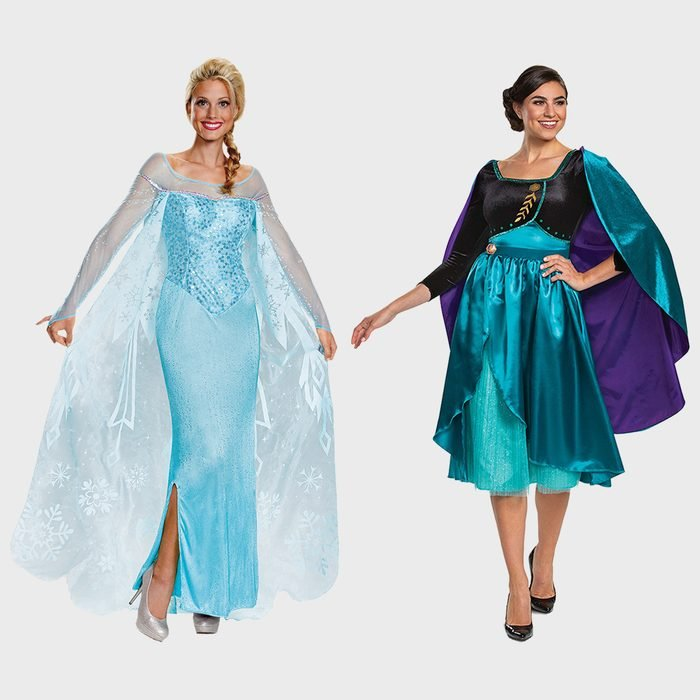 Frozen Elsa And Anna Halloween Costume