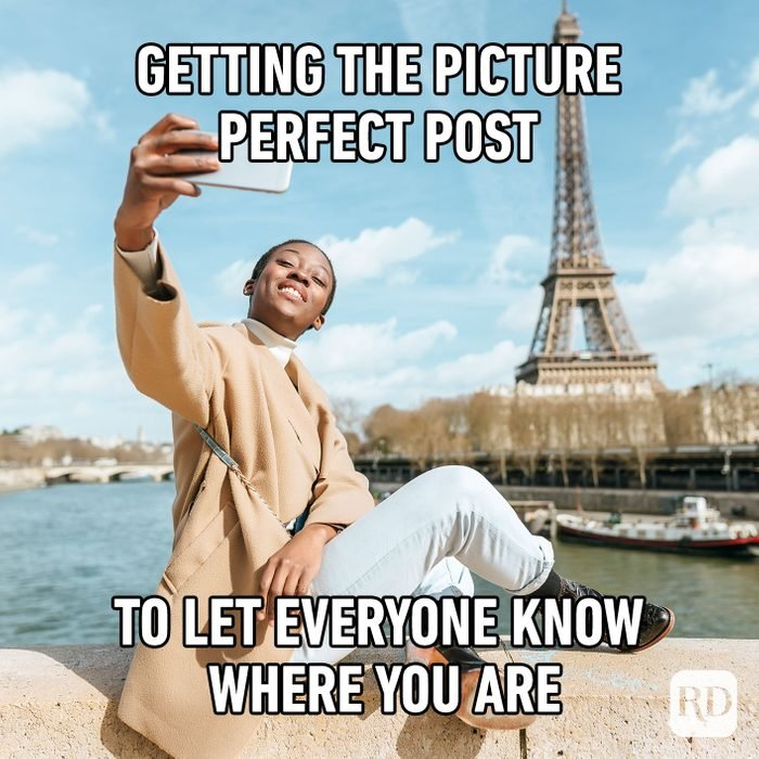 Getting The Picture Perfect Post To Let Everyone Know Where You Are