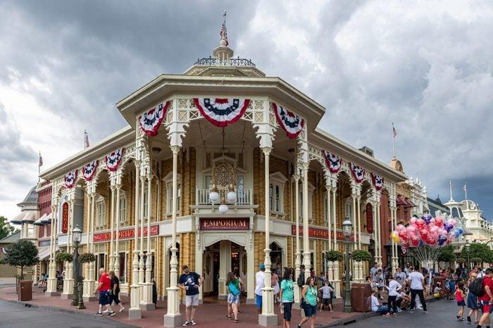 Facade and entrance of the Emporium Main Street inside of...