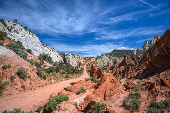 Cottonwood Canyon Road in Grand Staircase-Escalante National Monument in southern Utah
