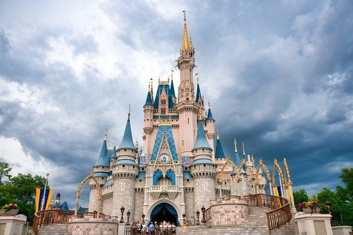 Cinderella Castle in Walt Disney World...