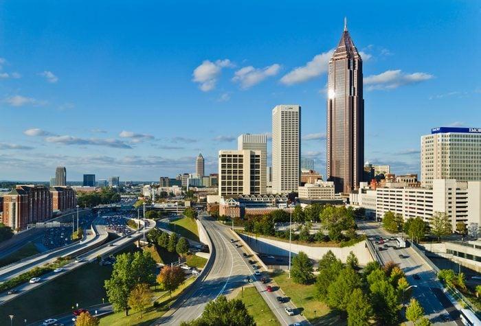 USAGeorgia, Atlanta, View of downtown