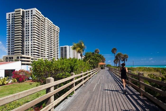 Miami Beach, FL, beachwalk