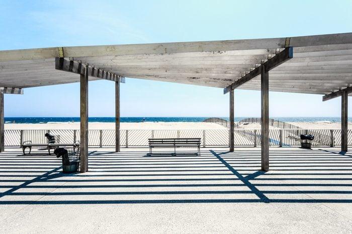 rockaway beach boardwalk in new york