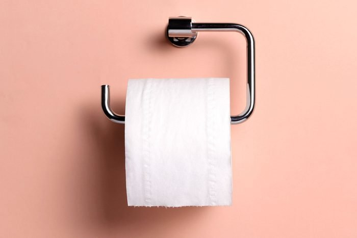 toilet paper with essential oil inside
