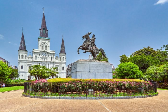 Jackson Square and St Louis Cathedral
