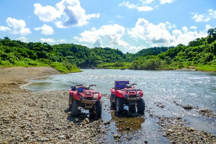 Quad trip on the Rio Chavon River