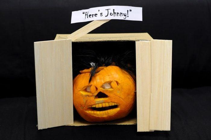 The shining themed halloween pumpkin