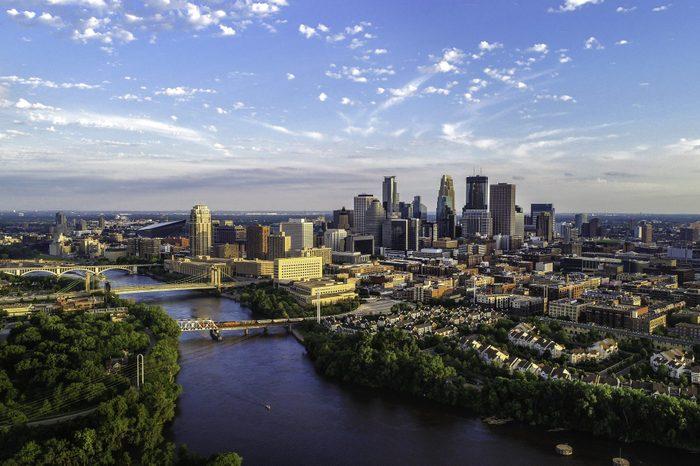 Minneapolis - Summer Cityscape