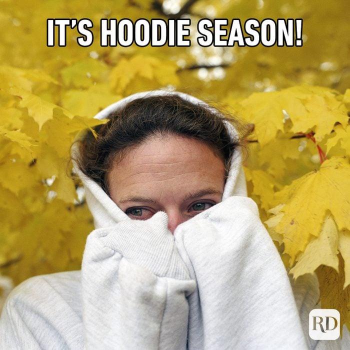 It's Hoodie Season!