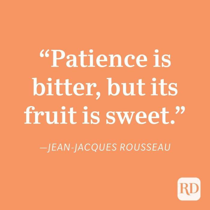 Jean Jacques Rousseau Patience Quote