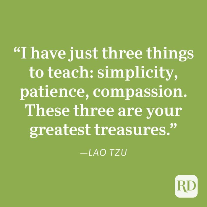 Lao Tzu Patience Quote