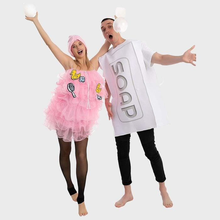 Loofah And Soap Halloween Costume