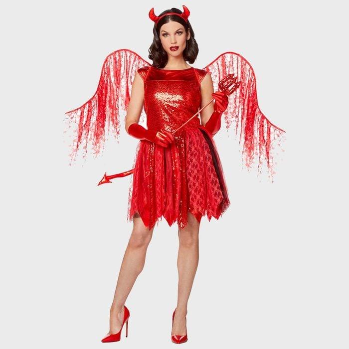 Miss Devil Halloween Costume