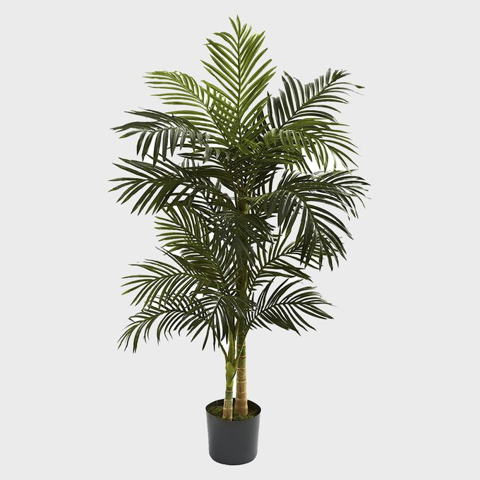 Nearly Natural Golden Cane Palm Artificial Tree
