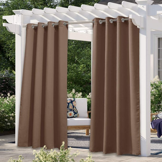 Nicetown Outdoor Curtains