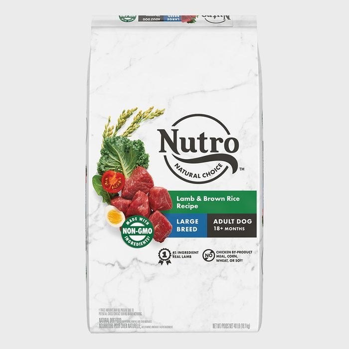 Nutro Natural Choice Adult Large Breed Lamb And Brown Rice Recipe