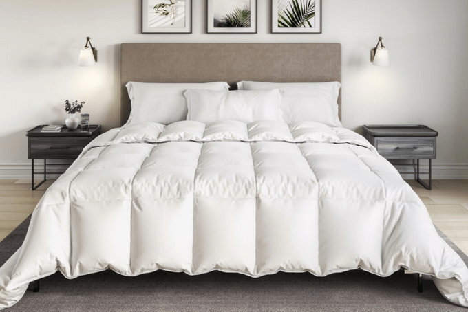 Organic All Year Down Alternative Comforter