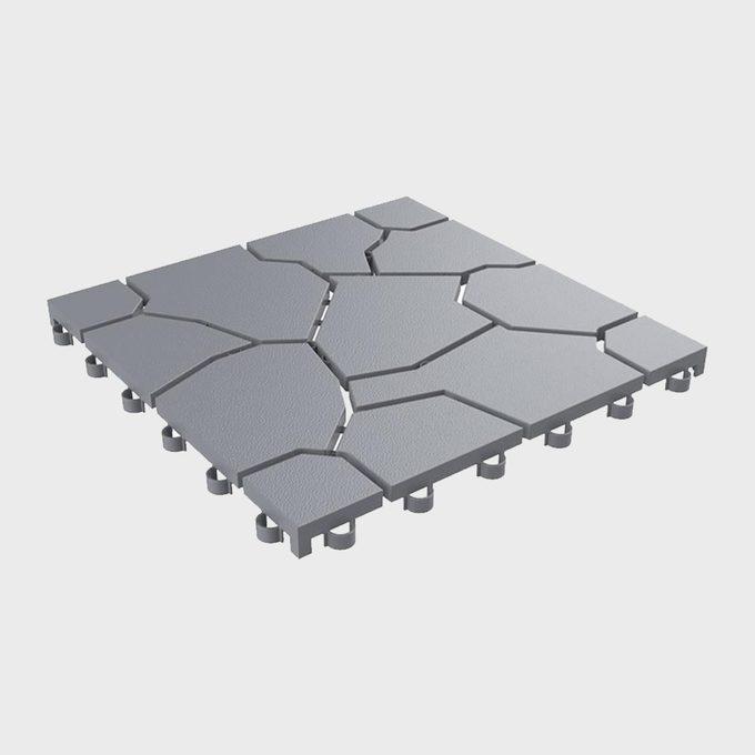 Pure Garden Square Polypropylene Tiles