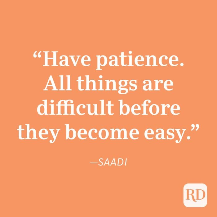 Saadi Patience Quote