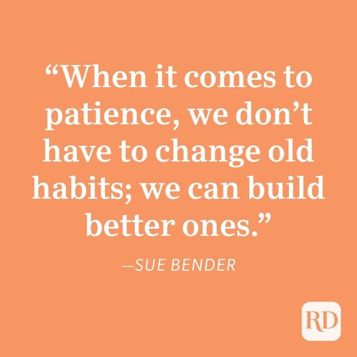 Sue Bender Patience Quote