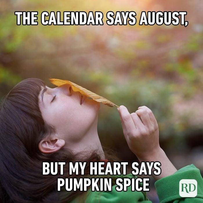 The Calendar Says August, But My Heart Says Pumpkin Spice