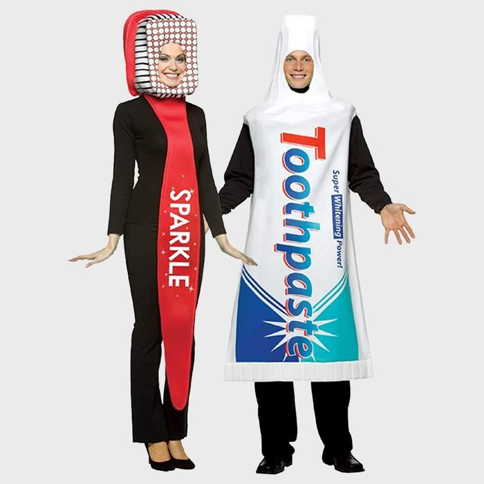 Toothbrush And Toothpaste Halloween Costume