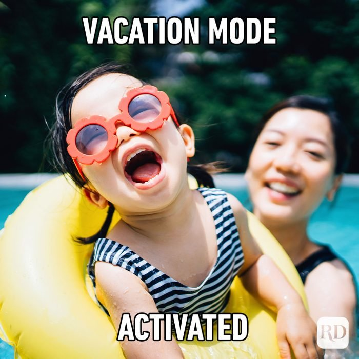 Vacation Mode Activated