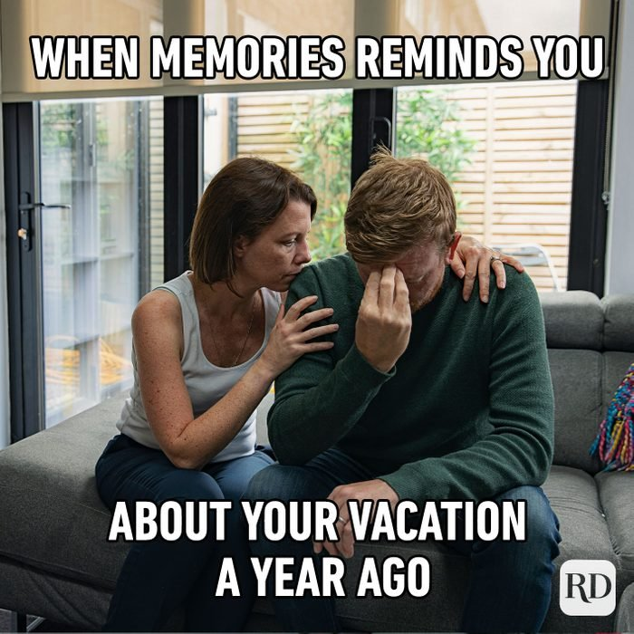 When Memories Reminds You About Your Vacation A Year Ago