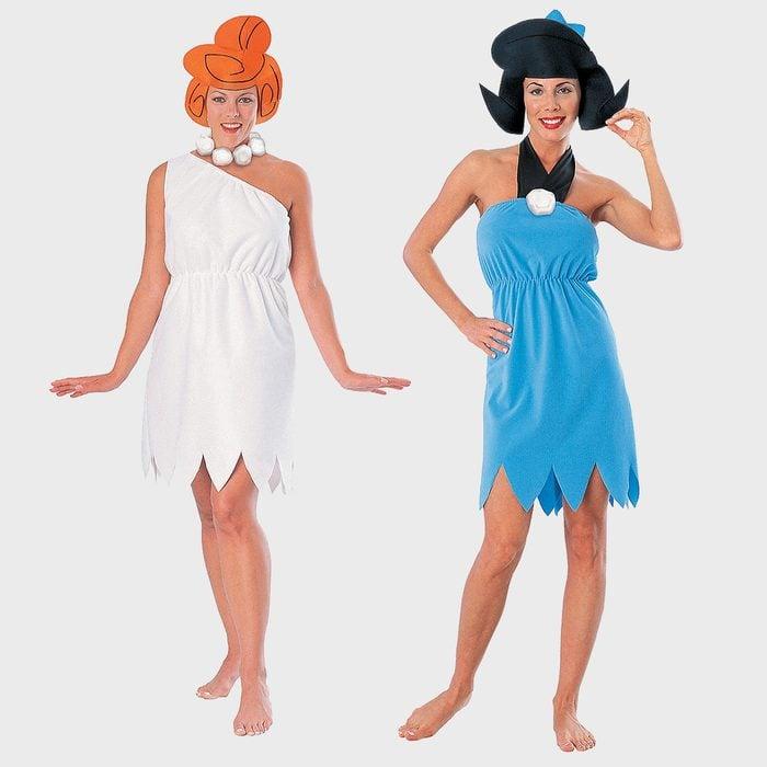 Wilma Flintstone And Betty Rubble Halloween Costume