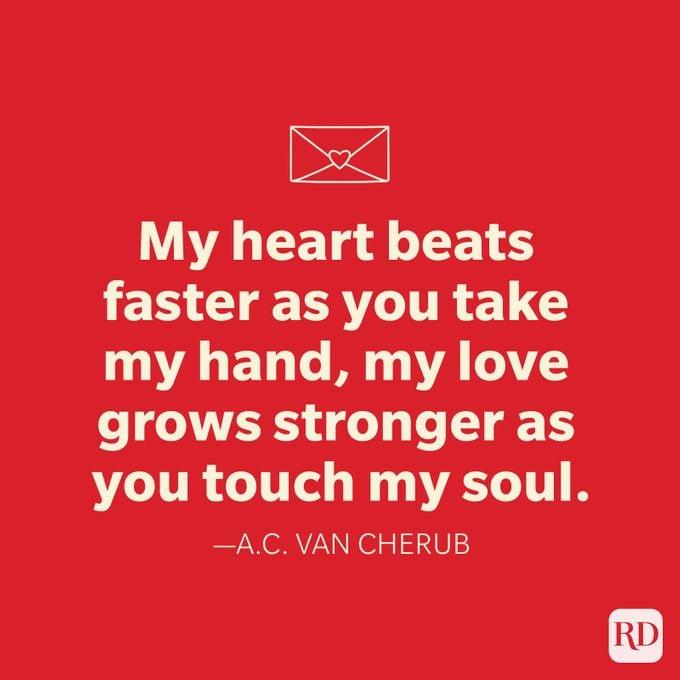 Ac Van Cherub Love Quotes