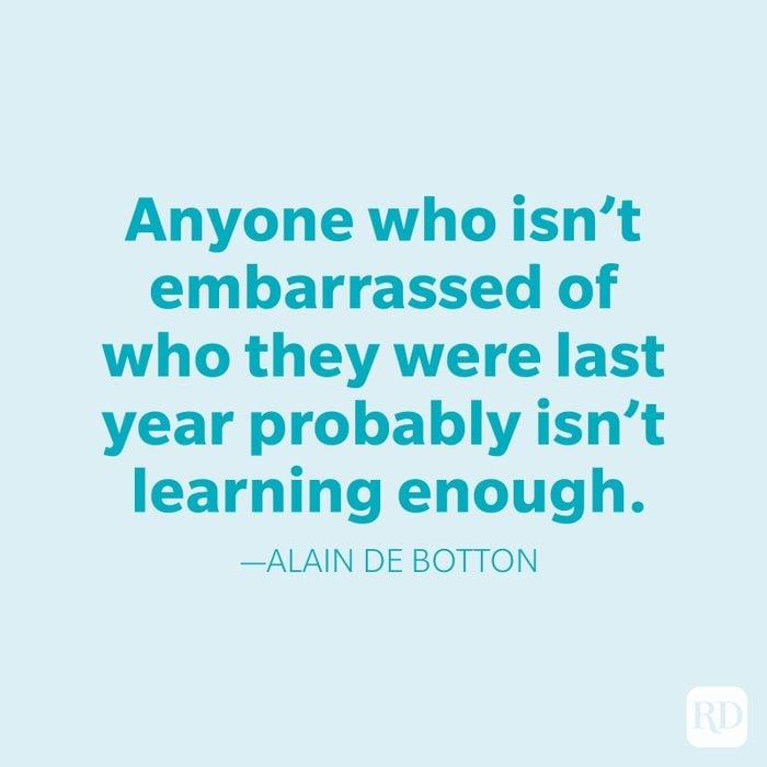 Alain De Botton Change Quotes