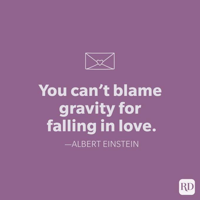 Albert Einstein Love Quote