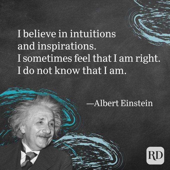 Albert Einstein Kutipan tentang Inspirasi