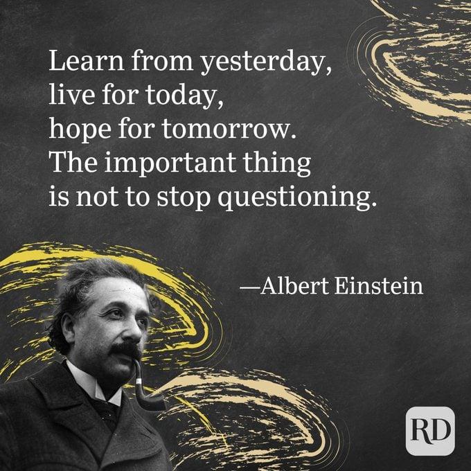 Albert Einstein Quote on Life
