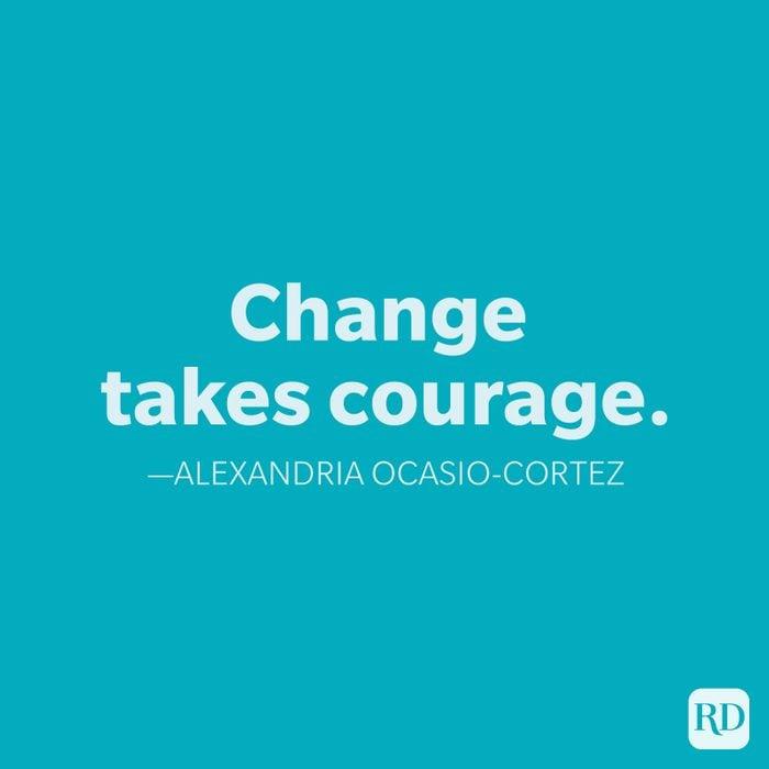 Alexandria Ocasio Cortez Change Quotes