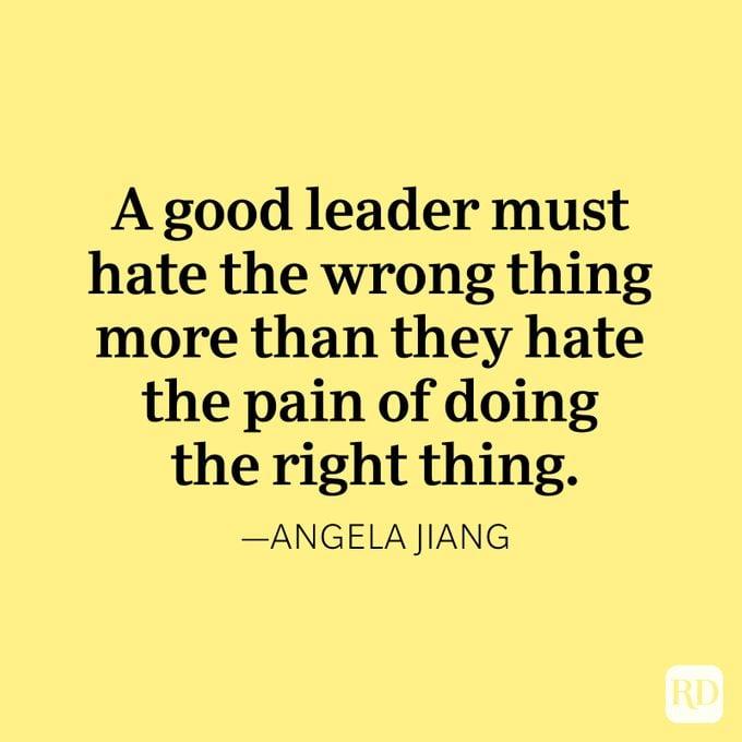 Angela Jiang Quote