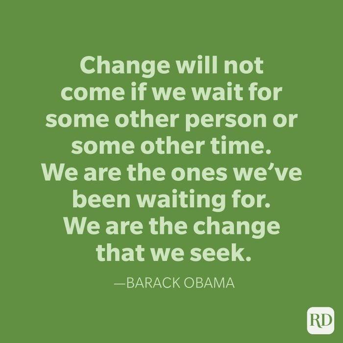 Barack Obama Change Quotes
