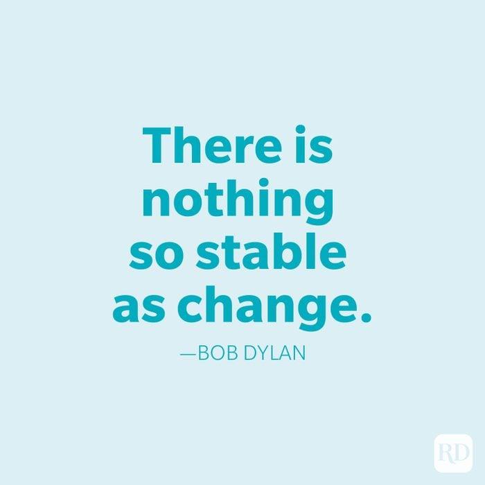 Bob Dylan Change Quotes